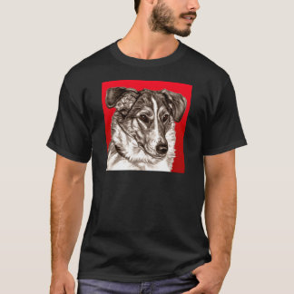 Smooth Collie Portrait T-Shirt