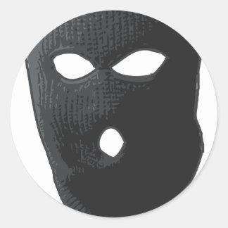 Smooth Criminal Classic Round Sticker