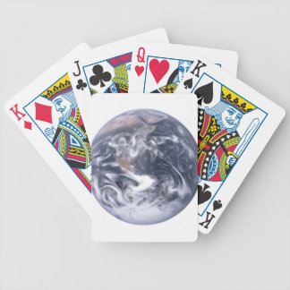 Smooth Earth Bicycle Playing Cards
