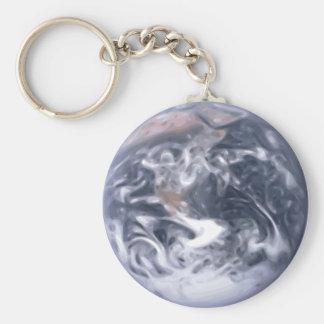 Smooth Earth Keychain
