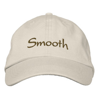 Smooth Embroidered Hats