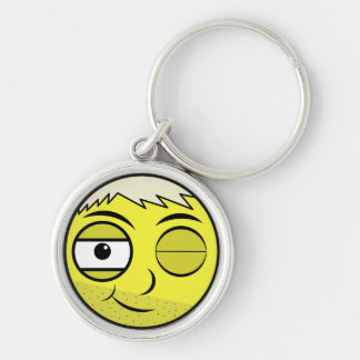 Smooth Face Keychain
