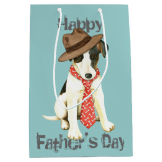 Smooth Fox Terrier Dad Medium Gift Bag