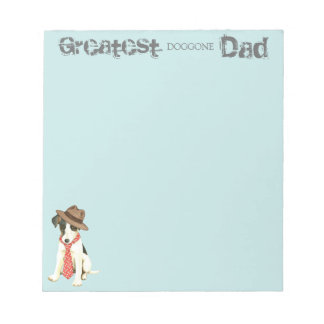 Smooth Fox Terrier Dad Notepad
