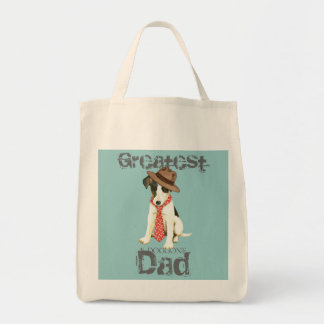 Smooth Fox Terrier Dad Tote Bag