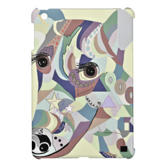 Smooth Fox Terrier Denim Colors iPad Mini Case