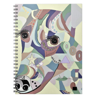 Smooth Fox Terrier Denim Colors Notebooks