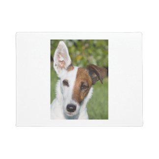smooth fox-terrier doormat