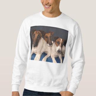 smooth fox terrier group sweatshirt