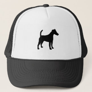 Smooth Fox Terrier silhouette Trucker Hat