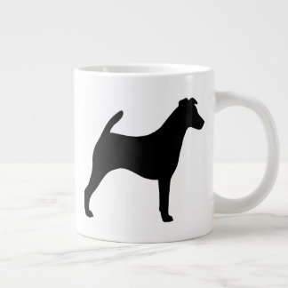 Smooth Fox Terrier Silhouettes Large Coffee Mug