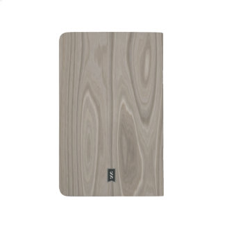 Smooth Gray Wood Journal