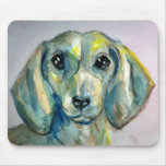 Smooth Haired Dachshund Mouse Pads