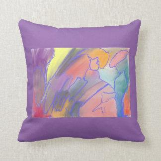 Smooth Jazz Throw Pillow