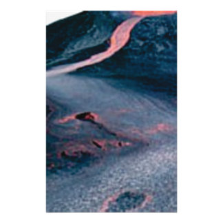 smooth lava river stationery