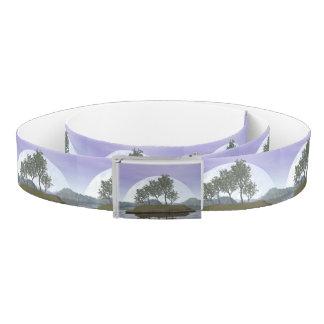 Smooth leaved elm bonsai tree - 3D render Belt