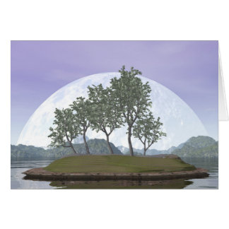 Smooth leaved elm bonsai tree - 3D render Card