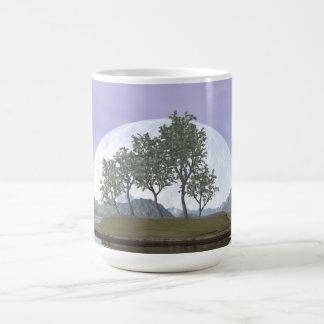 Smooth leaved elm bonsai tree - 3D render Coffee Mug