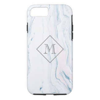 Smooth Light Tones Marble Stone iPhone 8/7 Case