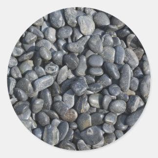 Smooth Pebbles Classic Round Sticker