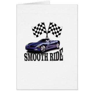 smooth ride blue card