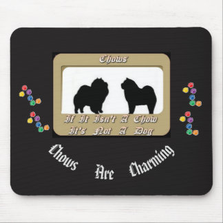Smooth & Rough Chow Chow Mousepad