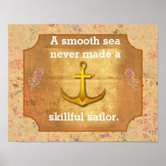 Smooth sailing -- art print
