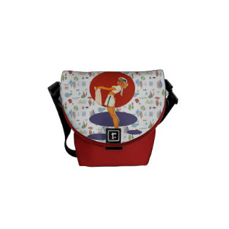 Smooth Sailing Messenger Bag