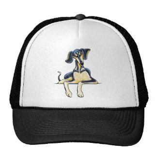 Smooth Saluki Emil Trucker Hat