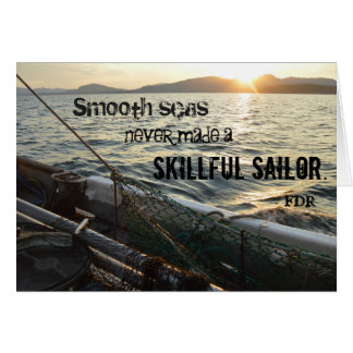 Smooth Seas Card