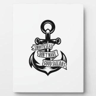 Smooth Seas Plaque