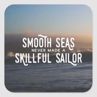 Smooth Seas Sailor Sticker