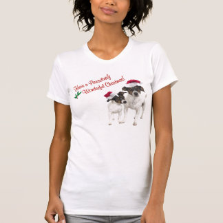 Smooth Toy Fox Terrier Christmas Nightshirt Tee Shirt