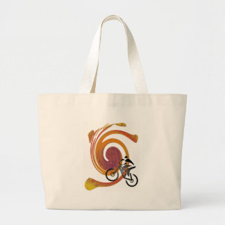 SMOOTH TRAIL RIDE LARGE TOTE BAG