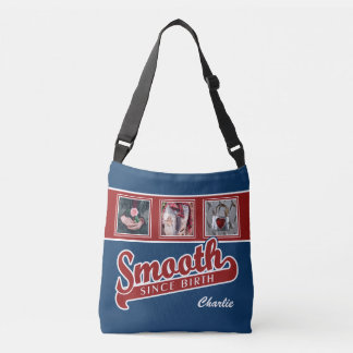 SMOOTH with YOUR 3 instagram photos & name bags