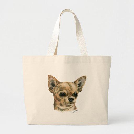 Smoothcoat chihuahua - 1 (colour) tote bag