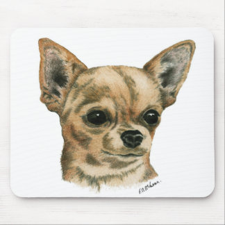 Smoothcoat chihuahua mouse pad
