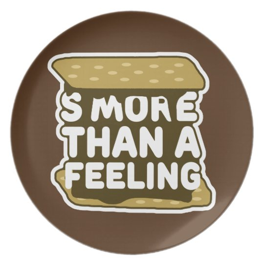S'more Than a Feeling Plate