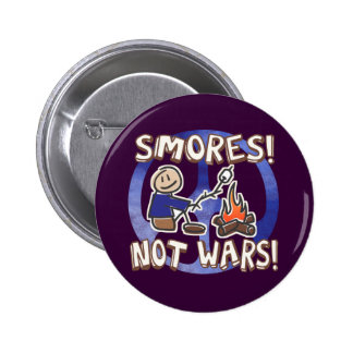 S'mores Not Wars 2 Inch Round Button