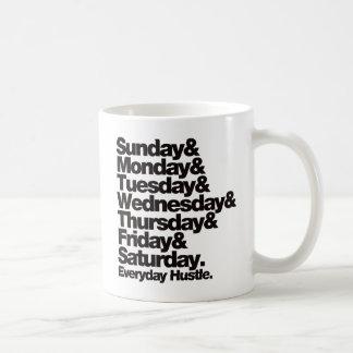 SMTWTFS Everyday Hustle Coffee Mug