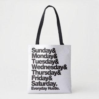 SMTWTFS Everyday Hustle Tote Bag