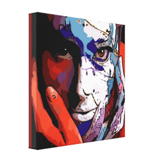 Smudge Her Canvas Print