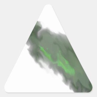 Smudge Triangle Sticker