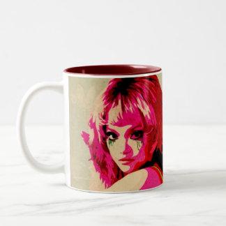 smudged mug