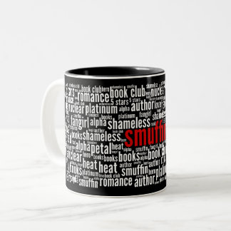 Smuffin Word Cloud Black Mug (C)