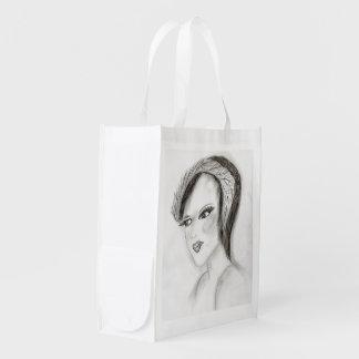 SMUG 30s Girl Grocery Bag