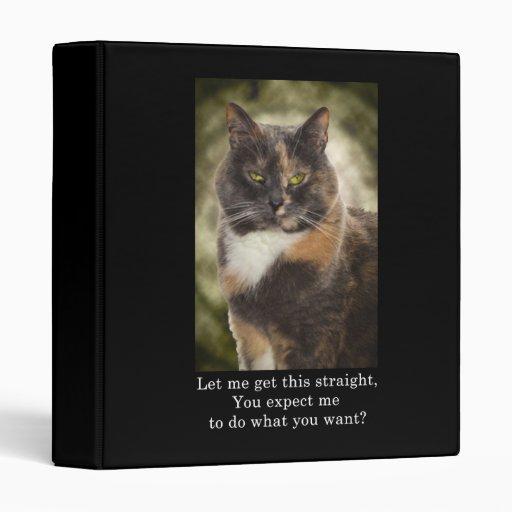 Smug Kitty - Do What You Want? Binder
