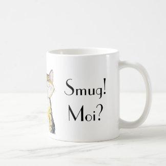 'Smug! Moi?' mug design