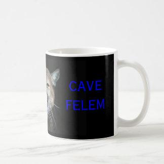 Snaarling Cougar, CAVE FELEM, Dell City Cougars Basic White Mug