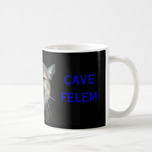 Snaarling Cougar, CAVE FELEM, Dell City Cougars Coffee Mugs